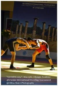 Διεθνές Τουρνουά Πάλης Ολυμπία 2015 1
