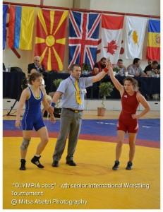 Διεθνές Τουρνουά Πάλης Ολυμπία 2015 10