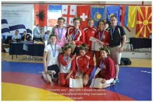 Διεθνές Τουρνουά Πάλης Ολυμπία 2015 5