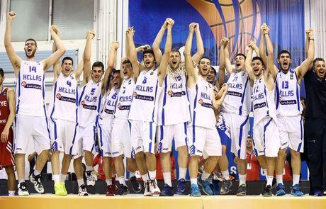 Ελλάδα Μπάσκετ 2015