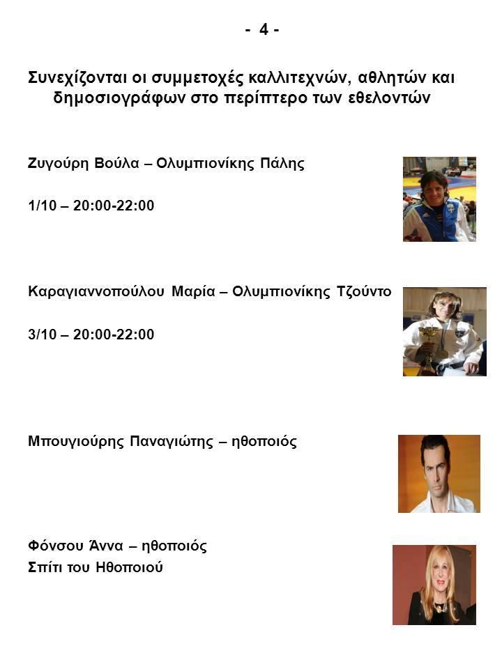 Εθελοντισμός Ηράκλειο Αττικής - Βούλα Ζυγούρη