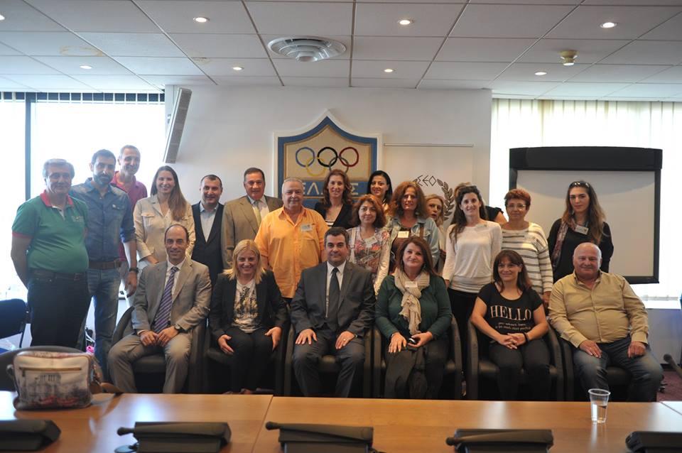 Μνημόνιο συνεργασίας Συλλόγων Ολυμπιονικών Ελλάδας Γεωργίας 10