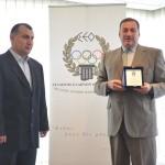 Μνημόνιο συνεργασίας Συλλόγων Ολυμπιονικών Ελλάδας Γεωργίας 11