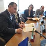 Μνημόνιο συνεργασίας Συλλόγων Ολυμπιονικών Ελλάδας Γεωργίας 13