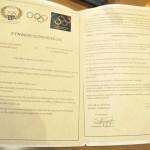 Μνημόνιο συνεργασίας Συλλόγων Ολυμπιονικών Ελλάδας Γεωργίας 18