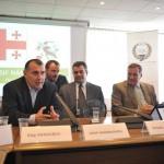 Μνημόνιο συνεργασίας Συλλόγων Ολυμπιονικών Ελλάδας Γεωργίας 3
