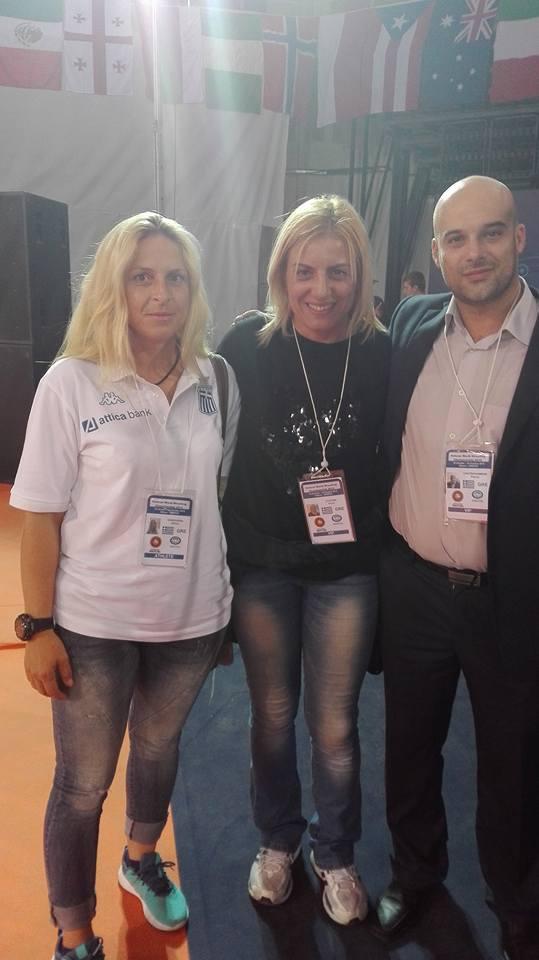 Παγκόσμιο Πρωτάθλημα Βετεράνων Πάλης Αθήνα 2015 - Βούλα Ζυγούρη 1