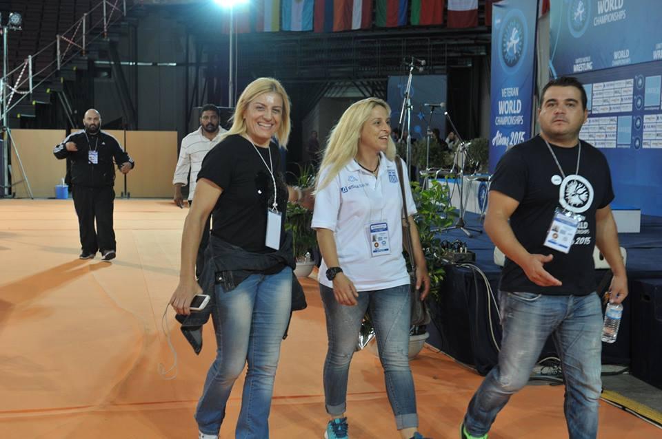 Παγκόσμιο Πρωτάθλημα Βετεράνων Πάλης Αθήνα 2015 - Βούλα Ζυγούρη 2