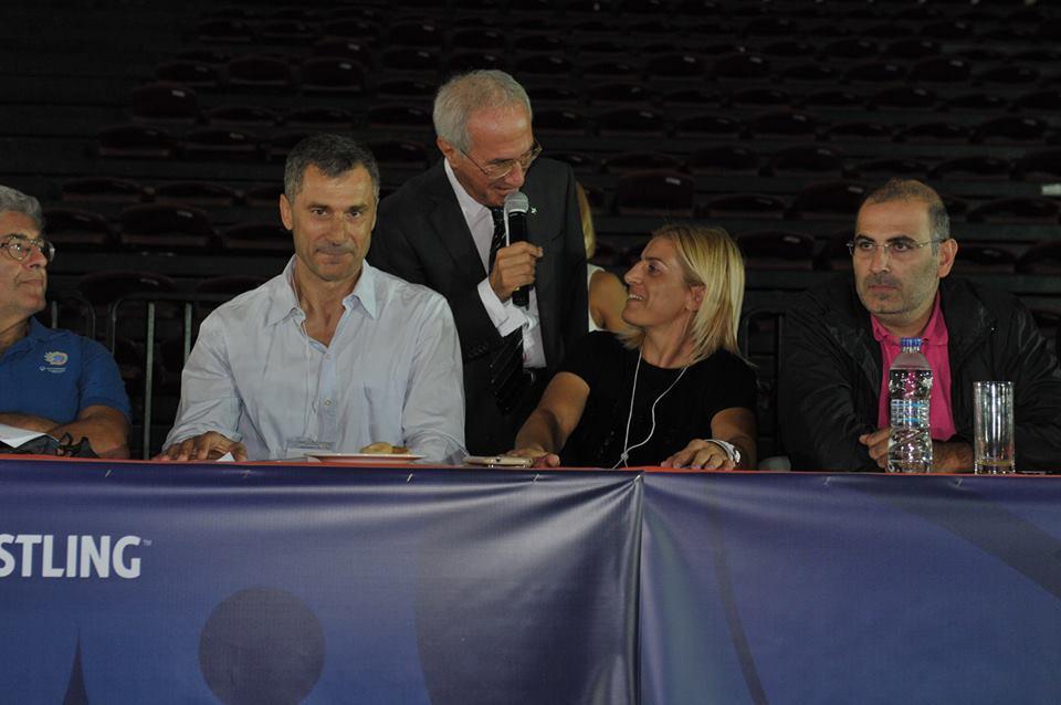 Παγκόσμιο Πρωτάθλημα Βετεράνων Πάλης Αθήνα 2015 - Βούλα Ζυγούρη 4