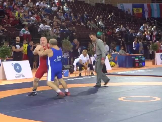 Παγκόσμιο Πρωτάθλημα Πάλης Βετεράνων Αθήνα 2015 - Δημήτρης Κολιτσόπουλος