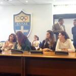 Σύμφωνο συνεργασίας μεταξύ συλλόγων Ολυμπιονικών Ελλάδας και Γεωργίας 7
