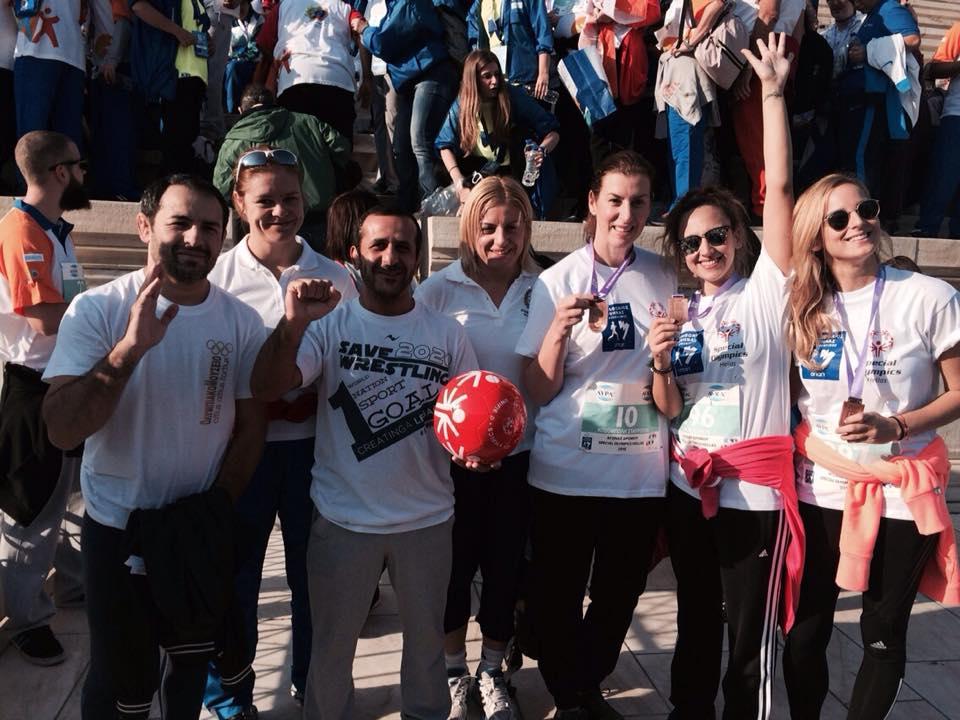 Μαραθώνιος Αθήνας 2015 - Βούλα Ζυγούρη - Σύλλογος Ελλήνων Ολυμπιονικών 4