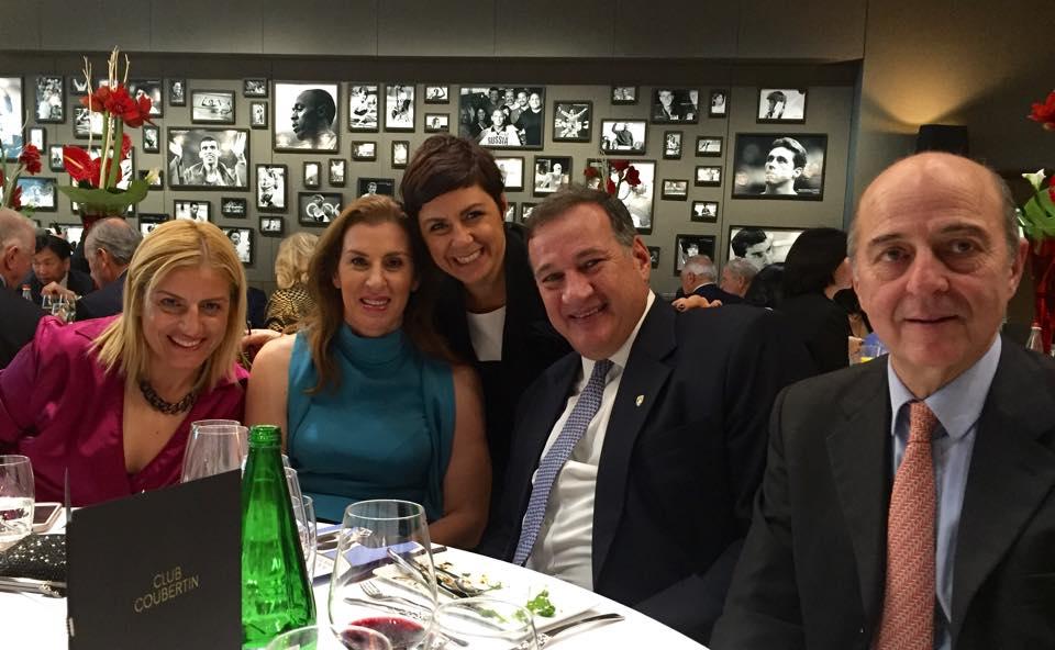 IOC Women and Sport 2015 - Βούλα Κοζομπόλη - Βούλα Ζυγούρη 3