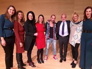 Bραβεία λεμε οχι στον σχολικό εκφοβισμό του Διεθνούς κέντρου Ολυμπιακής Εκεχυρείας 2015 - Βούλα Ζυγούρη 2