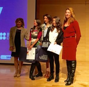 Bραβεία λεμε οχι στον σχολικό εκφοβισμό του Διεθνούς κέντρου Ολυμπιακής Εκεχυρείας 2015 1