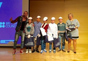 Bραβεία λεμε οχι στον σχολικό εκφοβισμό του Διεθνούς κέντρου Ολυμπιακής Εκεχυρείας 2015 4