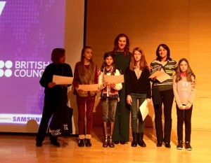 Bραβεία λεμε οχι στον σχολικό εκφοβισμό του Διεθνούς κέντρου Ολυμπιακής Εκεχυρείας 2015 6