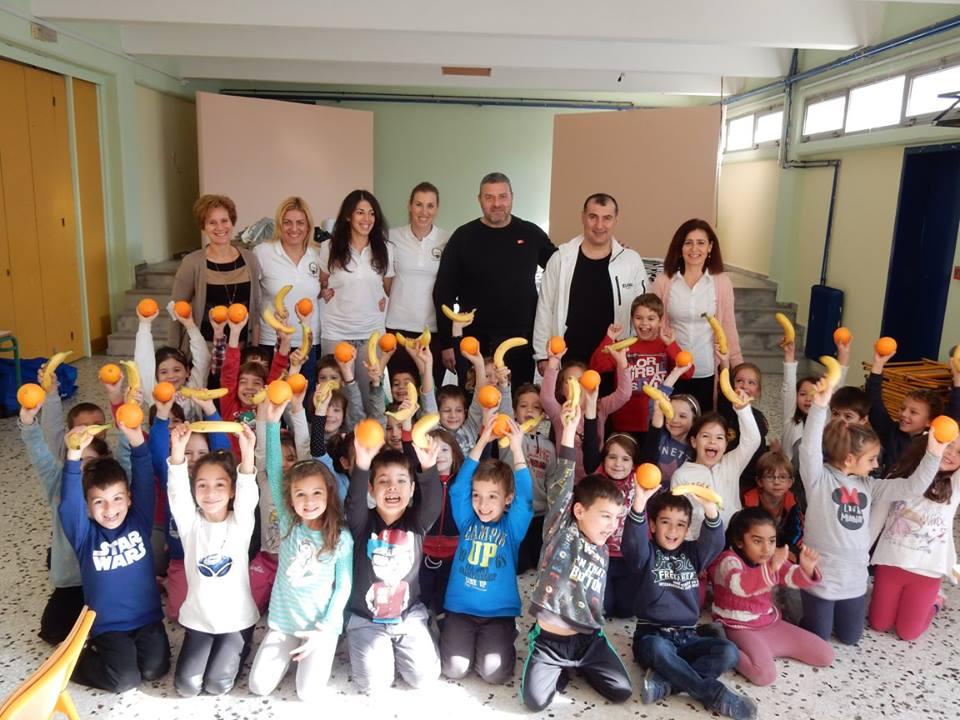 Αθλητικός Προσανατολισμός στο 60ο δημοτικό σχολείο αθηνών - Βούλα Ζυγούρη 1