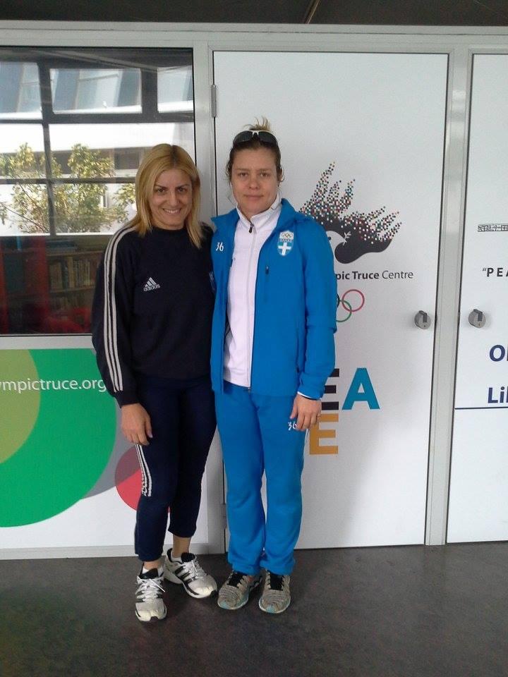 Σέβομαι την Διαφορετικότητα γνωρίζω τον αθλητισμό - Βούλα Ζυγούρη - Μαρία Λουίζα Βρυώνη 5