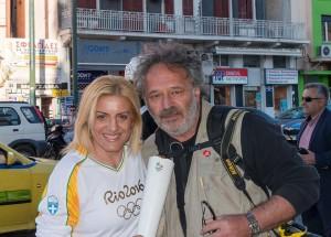 Ολυμπιακή Λαμπαδηδρομία - Rio 2016 - Βούλα Ζυγούρη 2