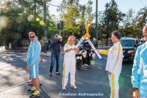 Ολυμπιακή Λαμπαδηδρομία - Rio 2016 - Βούλα Ζυγούρη 3