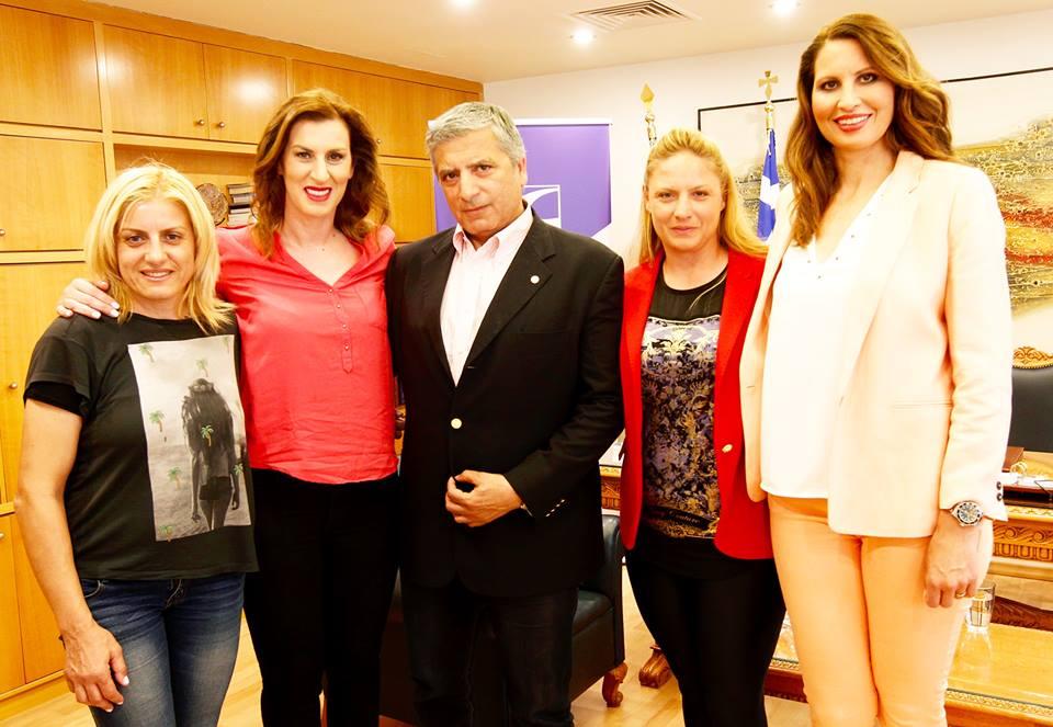 Συνάντηση του Συλλόγου Ελλήνων Ολυμπιονικών με τον Δήμαρχο Αμαρουσίου