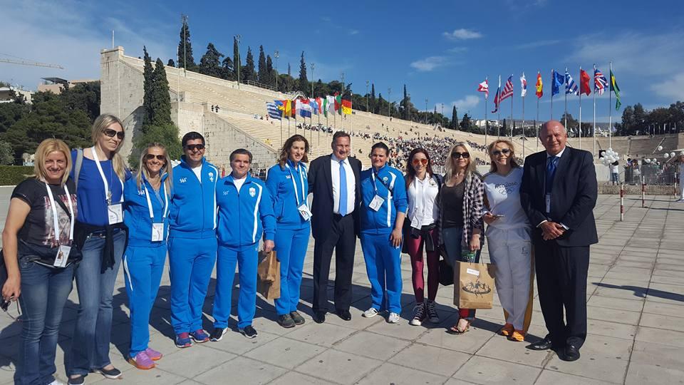 Τελετή παράδοσης της Ολυμπιακής Φλόγας - Βούλα Ζυγούρη