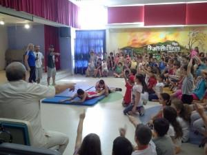 Ο αθλητικός προσανατολισμός στο 3ο δημοτικό Χαιδαρίου - Βούλα Ζυγούρη 1