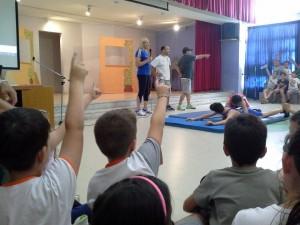 Ο αθλητικός προσανατολισμός στο 3ο δημοτικό Χαιδαρίου - Βούλα Ζυγούρη 4