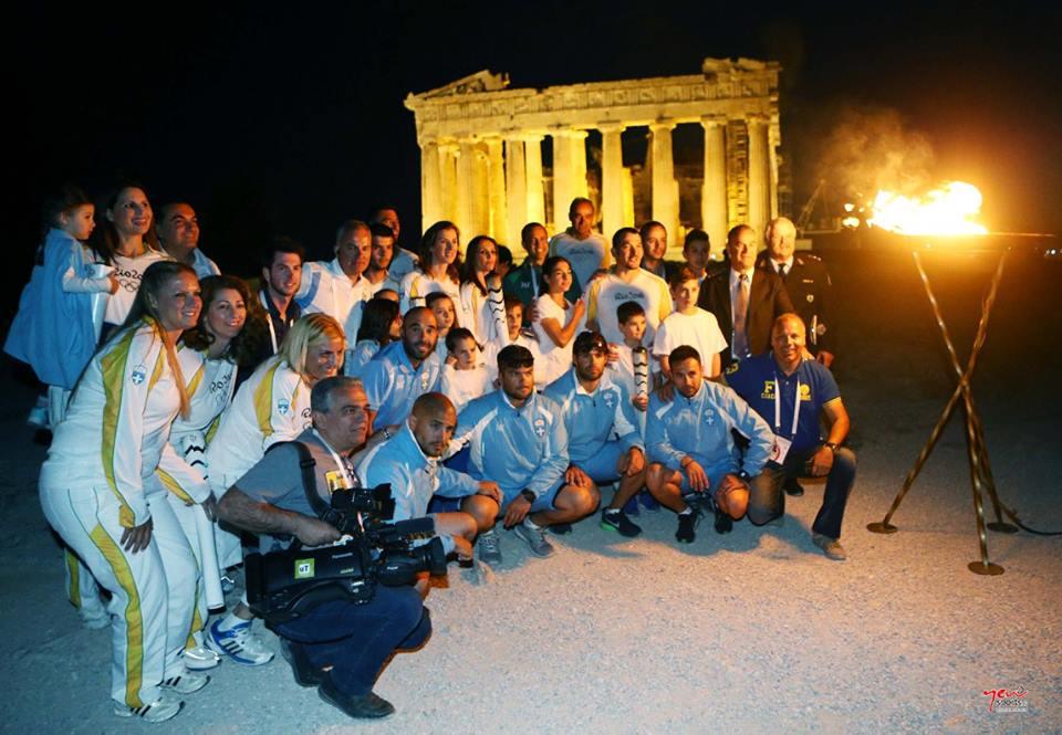 H καλύτερη ομάδα Λαμπαδηδρομίας στον κόσμο - Βούλα Ζυγούρη