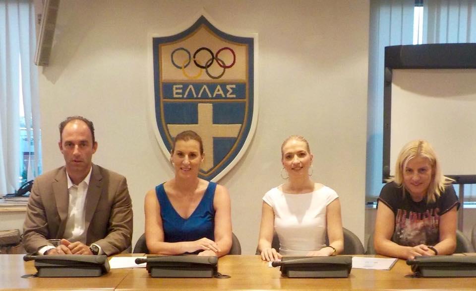 1ο σεμινάριο mentoring για Ολυμπιονίκες - Βούλα Ζυγούρη 1