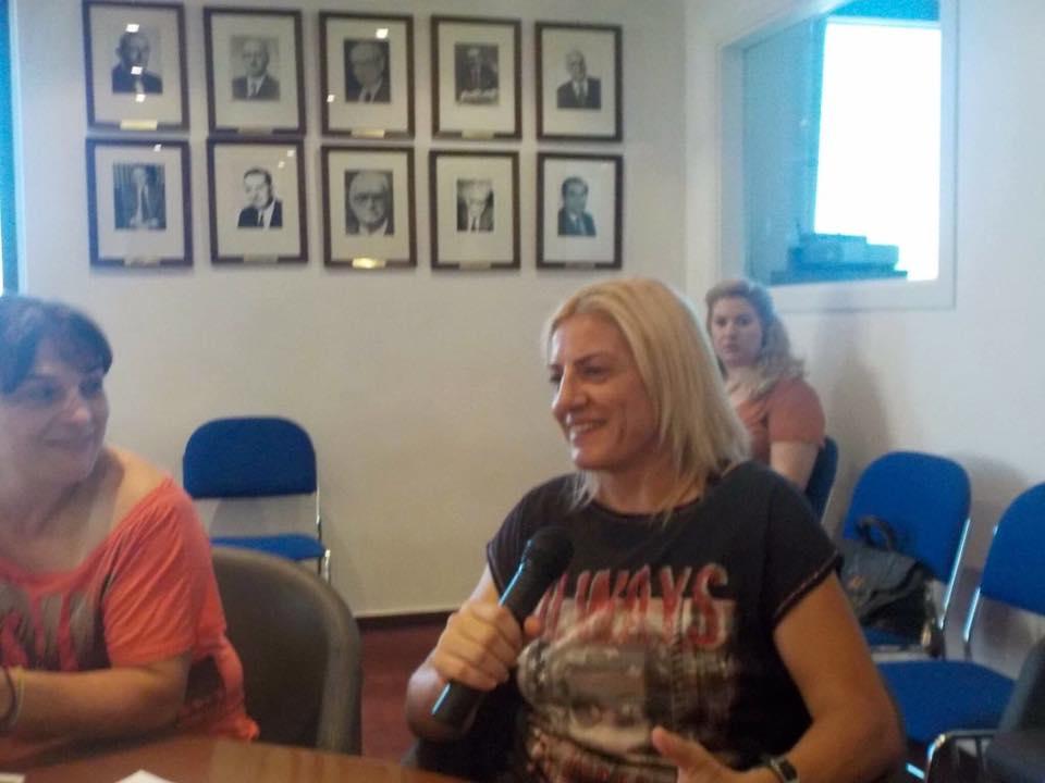 1ο σεμινάριο mentoring για Ολυμπιονίκες - Βούλα Ζυγούρη 2