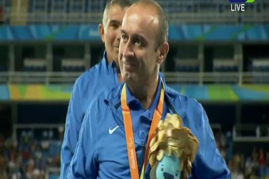 Παραολυμπιακοί Αγώνες Ριο 2016 Θανάσης Κωνσταντινίδης Δημήτρης Ζησίδης