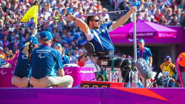 Παραολυμπιακοί Αγώνες Ριο 2016 Μανώλης Στεφανουδάκης