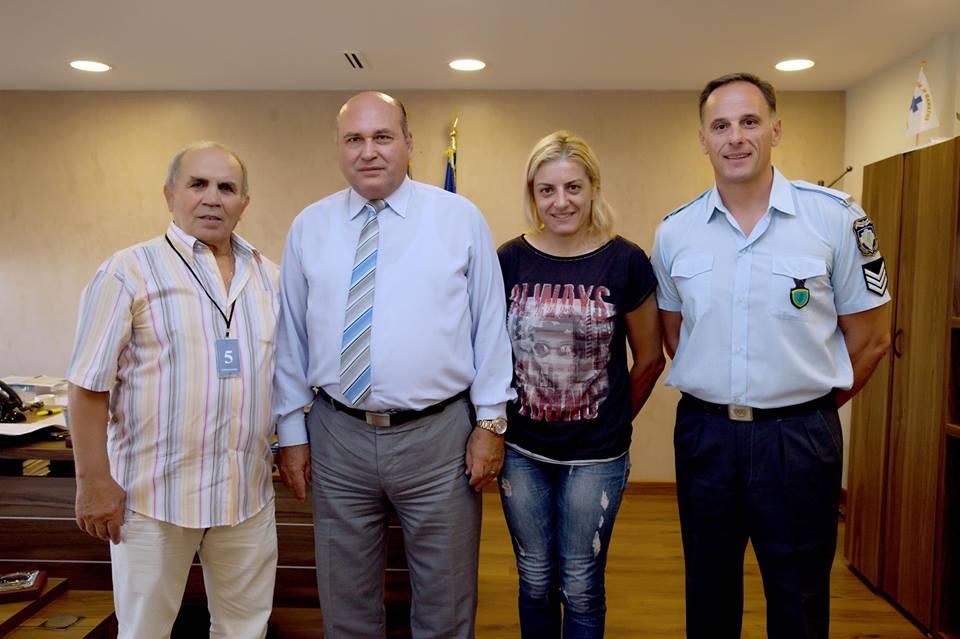 Συνάντηση ΥΠΣΕΔΑ Δημήτρης Κολιτσόπουλος Βούλα Ζυγούρη