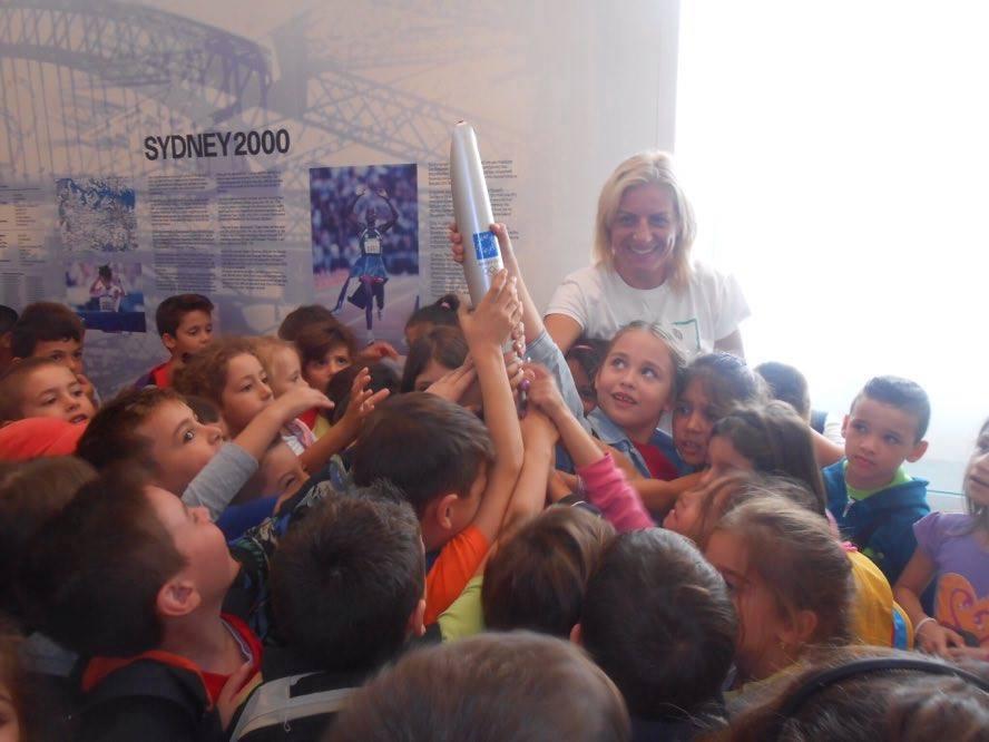 3η Πανελλήνια ημέρα σχολικού αθλητισμού - Βούλα Ζυγούρη