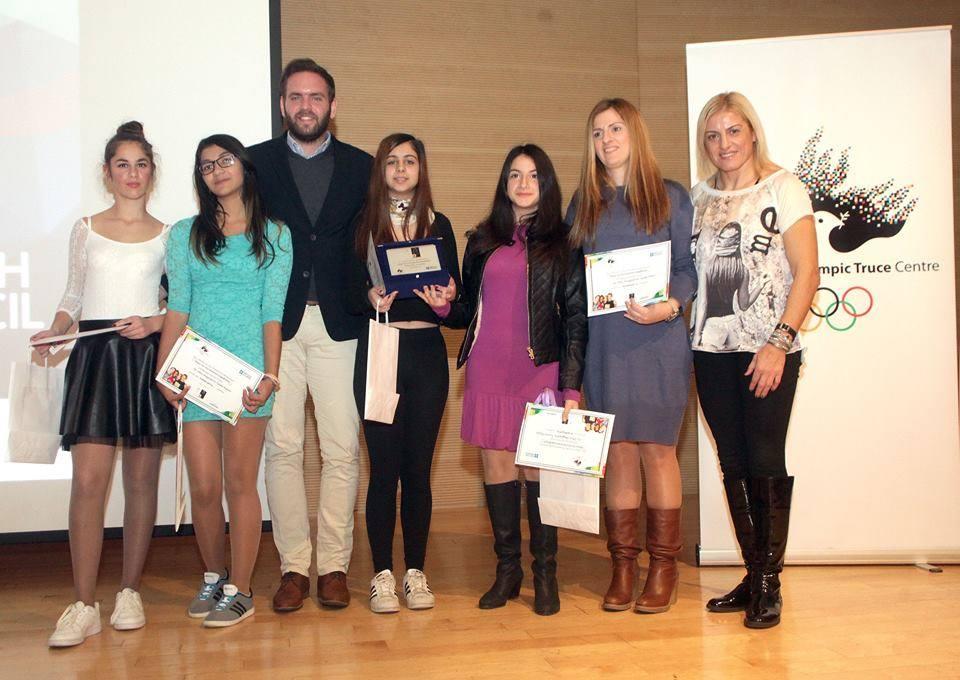 4ος Πανελλήνιος διαγωνισμός - Λέμε ΟΧΙ στον Σχολικό Εκφοβισμό - Βούλα Ζυγούρη
