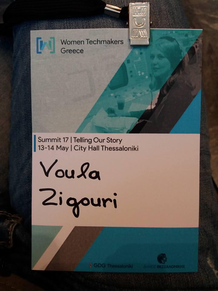 Βούλα Ζυγούρη - Women Techmakers Greece 3