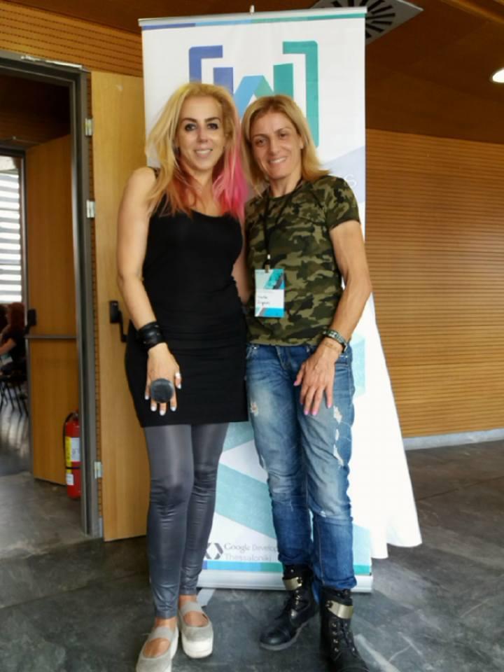 Βούλα Ζυγούρη - Women Techmakers Greece 4