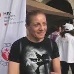 Η Βούλα Ζυγούρη στο Hot Walk 2019