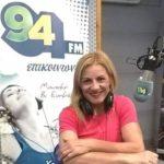 Η Βούλα Ζυγούρη στην εκπομπή Αθλητικά Μονοπάτια με τον Μάνο Χρυσό στον επικοινωνία FM 94 – 08-06-2019