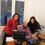 Η Παγκόσμια Πρωταθλήτρια της Άρσης Βαρών Αννα Στρούμπου μιλάει στο ραδιόφωνο του KALLITHEA PRESS - 23-11-2019