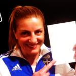 Η «λευκή κάρτα» της Ολυμπιονίκη Βούλα Ζυγούρη στη Διεθνή Ημέρα Αθλητισμού για την Ανάπτυξη και την Ειρήνη.